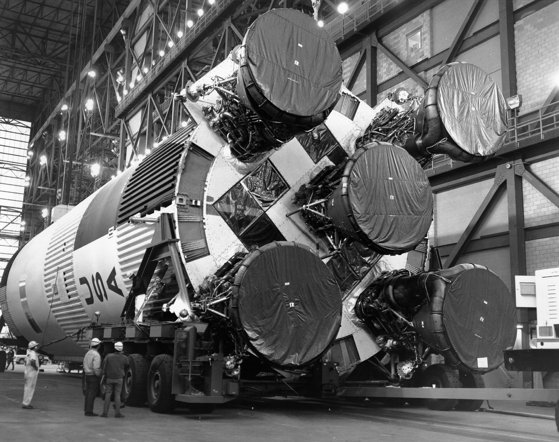 Apollo 11 Image Gallery - Preparing A Moonship