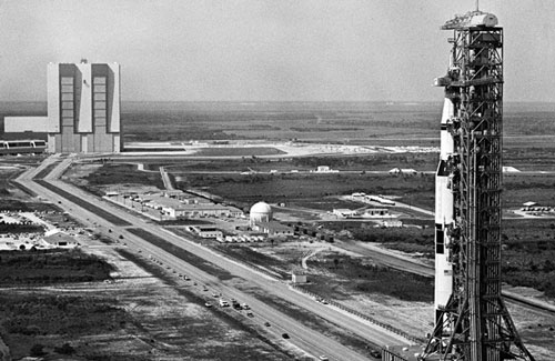 picture of launch pad 39B